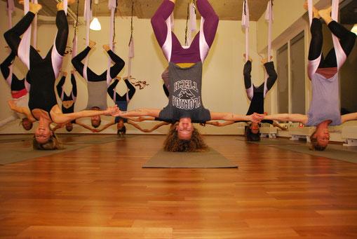 Yoganacht, Aerial Yoga
