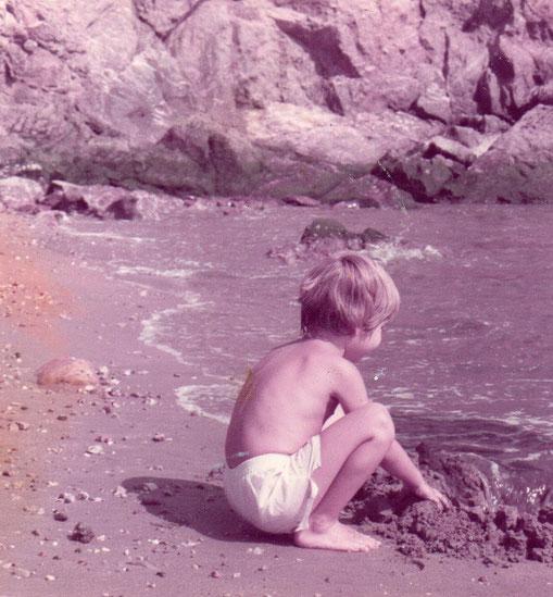Juegos en la playa. F. Merche.