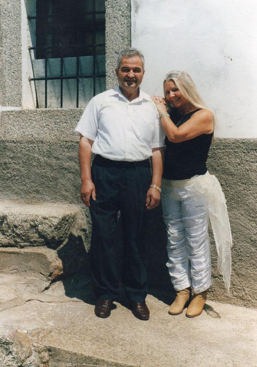 Con Aurelio.