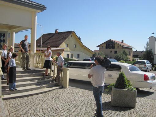 """Filmaufnahmen -""""Haus im Glück"""