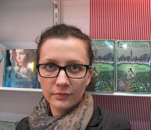 Zimazans von Claudi Feldhaus auf der LBM15 Claudi Feldhaus | Autorin