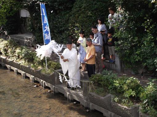 伊砂砂神社 夏越大祓