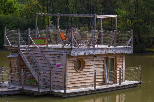 Aqualodge Nature, cabane flottante unique en France