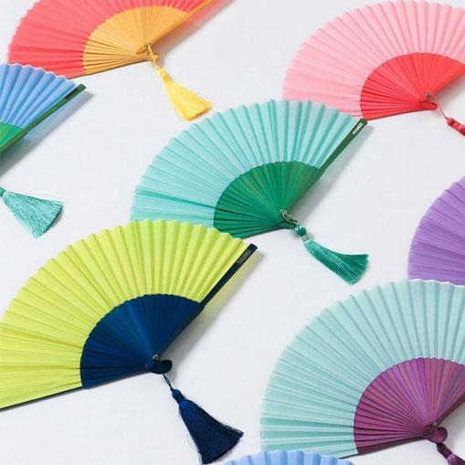 * SENSU - Japanese folding fan - Faltfächer -