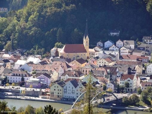 Blick auf Riedenburg und St. Johannes Baptist