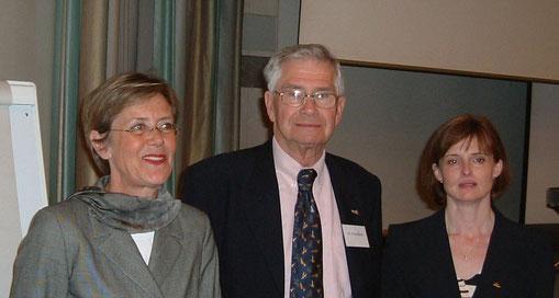 Bild von Thake Hansen-Lauff mit Peter Blythe und Sally Goddard-Blythe