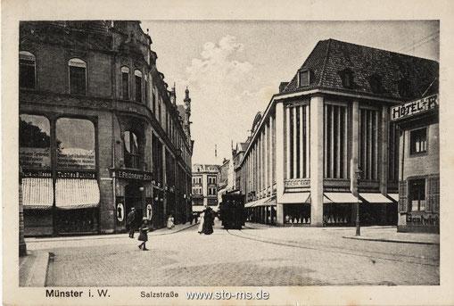 Damaliges Althoff/Karstadthaus, heute Stadtmuseum 1925-1930
