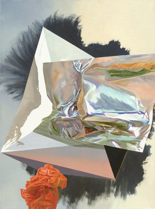 Maja Rohwetter, Dissassociative Disposition, oil on canvas, 160 x 120 cm, 2019