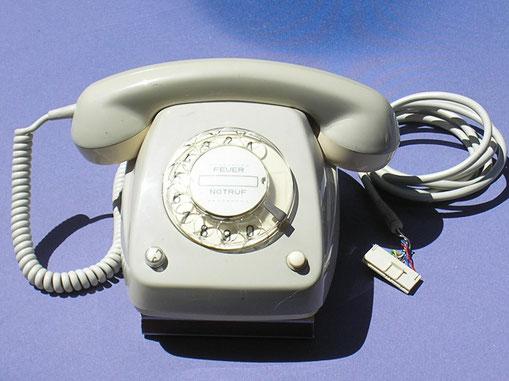 Telefon Modell FeTAp. 616 für A 2 Schaltung. Fertigungsjahr 1978 von DFG