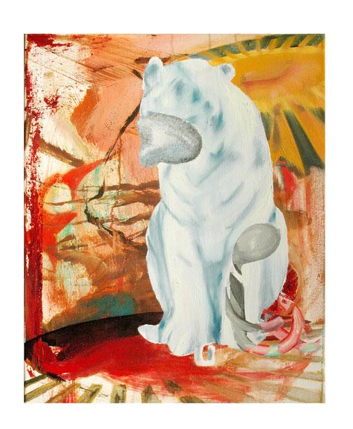 Albino-                   -Oil on canvas-     -2011-     -50x40cm