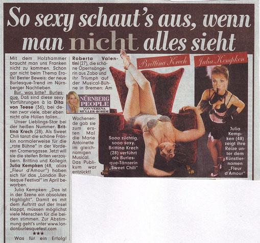 Bildzeitung Nürnberg, 03.02.09