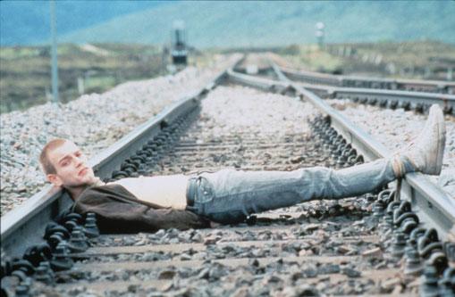"Mark Renton in ""Trainspotting""- Danny Boyle, 1996."