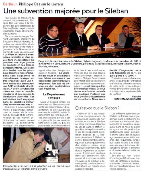 Presse de la Manche, 14/05/2016