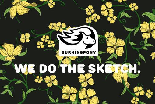 Illustration des Burningpony