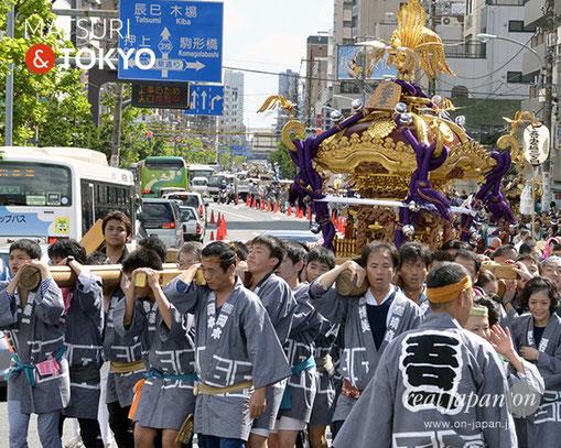 牛嶋神社大祭, 2012年(平成24年) 9月, 吾妻橋一丁目町会, 大神輿渡御
