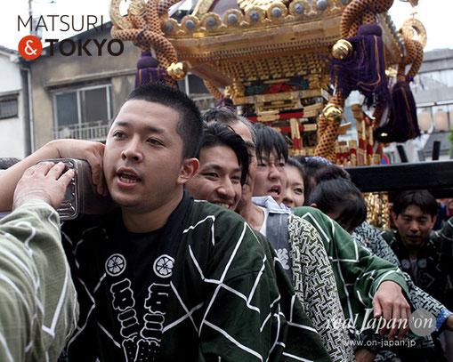 牛嶋神社大祭, 2012年(平成24年) 9月, 石原三丁目, 大神輿渡御
