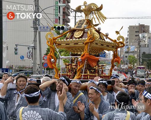 牛嶋神社大祭, 2012年(平成24年) 9月, 両緑敬神講, 大神輿渡御