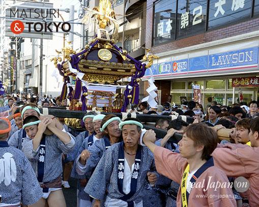 牛嶋神社大祭, 2012年(平成24年) 9月, 小梅一丁目町会, 大神輿渡御