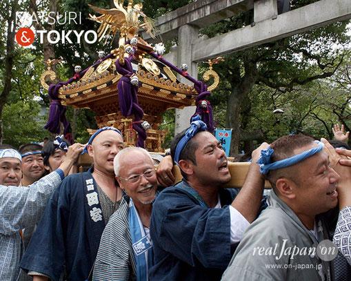 牛嶋神社大祭, 2012年(平成24年) 9月, 両弐會, 大神輿渡御