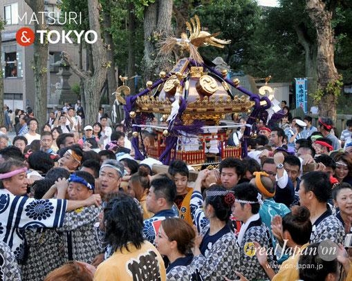 牛嶋神社大祭, 2012年(平成24年) 9月, 小梅二丁目町会, 大神輿渡御