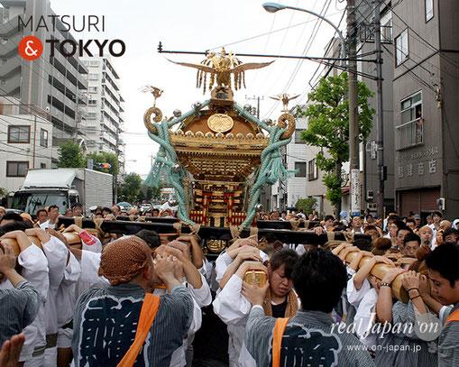 牛嶋神社大祭, 2012年(平成24年) 9月, 亀沢二丁目町会, 大神輿渡御
