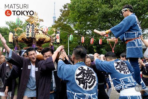牛嶋神社大祭 2016年(平成28年) 9月, 本所三丁目, 大神輿渡御