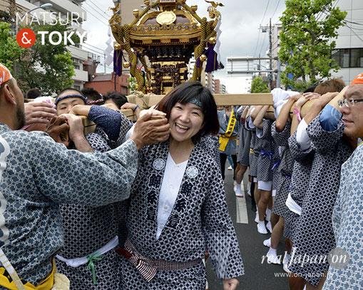 牛嶋神社大祭, 2012年(平成24年) 9月, 錦糸一丁目町会, 大神輿渡御