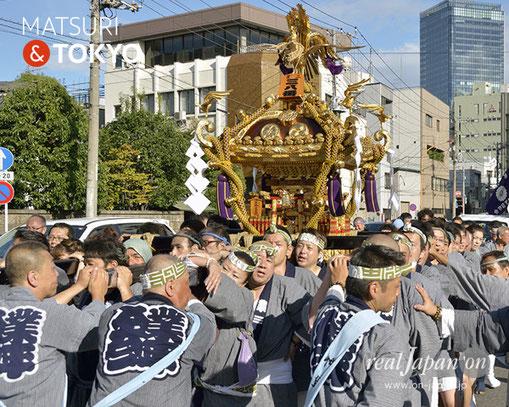 牛嶋神社大祭, 2012年(平成24年) 9月, 業平三丁目南町会, 大神輿渡御