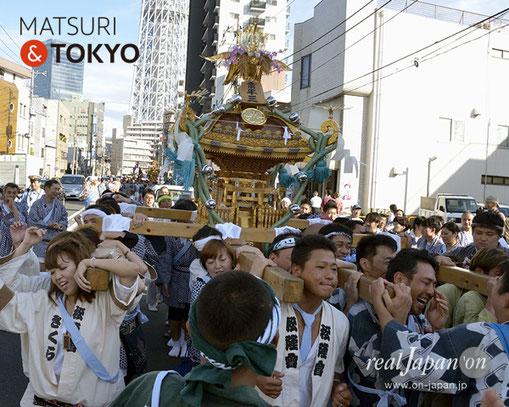 牛嶋神社大祭, 2012年(平成24年) 9月, 業平三丁目町会, 大神輿渡御