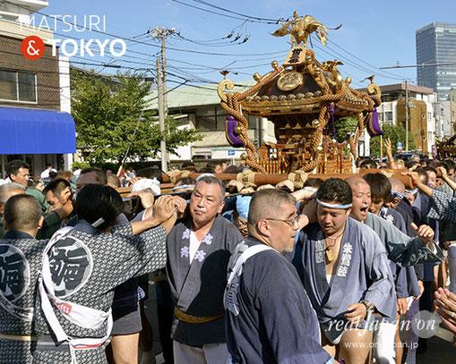 牛嶋神社大祭, 2012年(平成24年) 9月, 向島五丁目西町会, 大神輿渡御