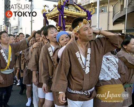 牛嶋神社大祭, 2012年(平成24年) 9月, 向島二・三町会, 大神輿渡御