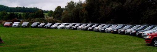 das Treffen mit den meisten Opel Sintra