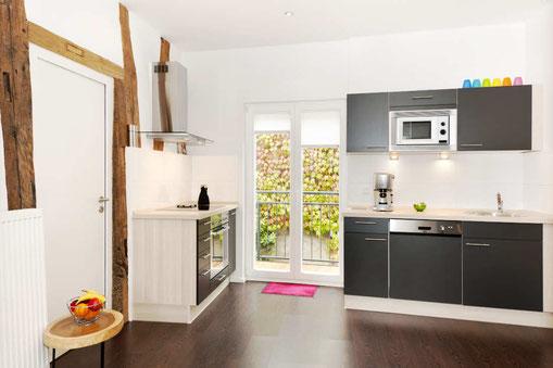 4 Sterne Appartement Fachwerkstube mit hochwertiger Einrichtung.