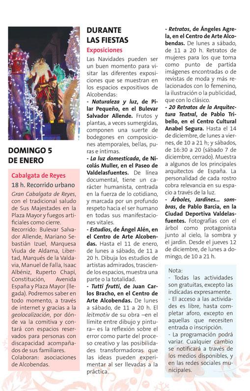 Navidad en Alcobendas Cabalgata de Reyes Magos