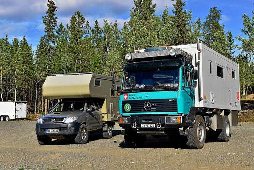 Klein und groß - der Truck der Schweitzer.
