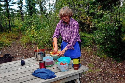 """""""Marmelade machen"""" ist manchmal ein harter Job."""