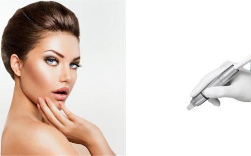 Microneedling Faltenbehandlung Dermapen Hautstraffung gegen Haarausfall Haarwachstum günstig in Köln
