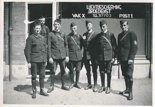 Ordedienst L.B.D. Vak X Post 1  © Foto Collectie Oorlogsleven
