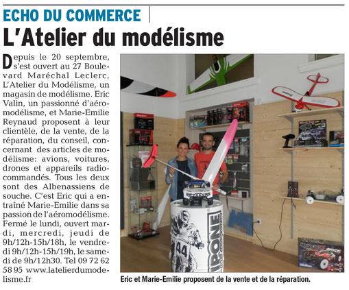 Le Dauphiné, article du 06.10.2017