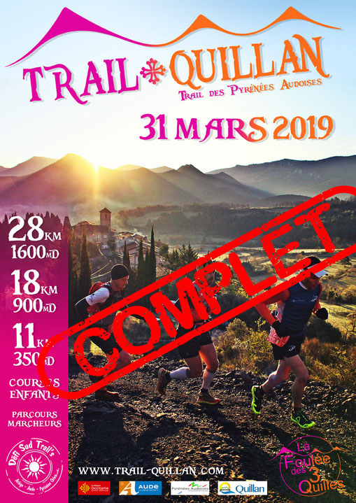 Trail Quillan 2019 complet