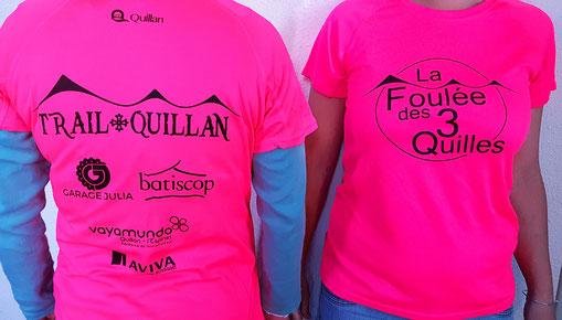 tshirt organisation Trail Quillan