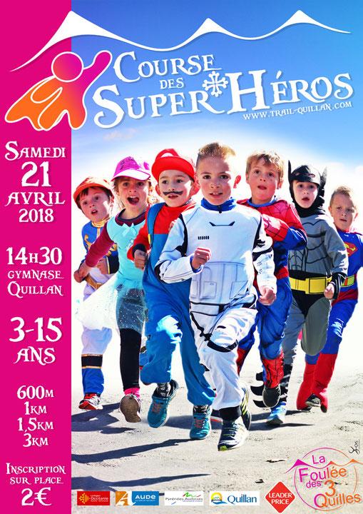 Course des Super Héros Quillan
