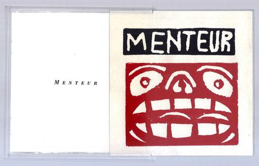 Menteur ! de Joël Jacobi illustré par Hervé Di Rosa