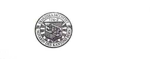 Notarin Franziska Jaccottet
