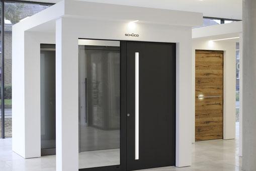 Aluminum und Holz Eingangstüren bei Köln und Mönchengladbach  kaufen