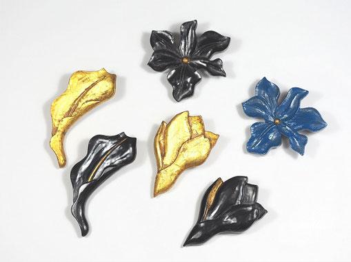 木蓮・百合・燕子花