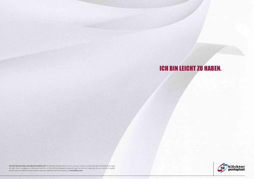 B2B-Anzeigenmotiv 'Weltweite Verfügbarkeit'