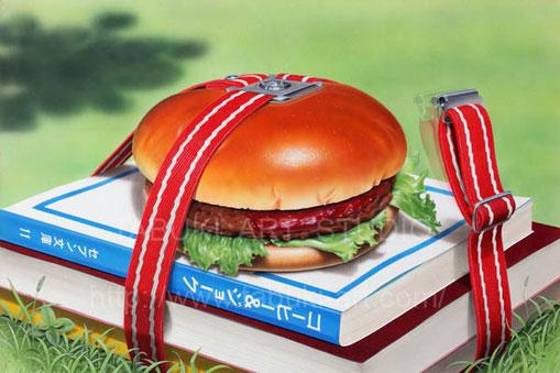 ハンバーガー ランチ キャンパスライフ