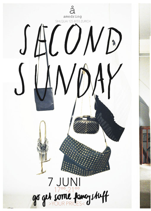 Secon Sunday seconhand clothing and accessories in zurich at Yael Adners Studio