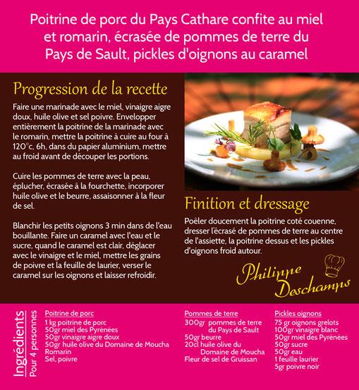 recette Philippe Deschamps